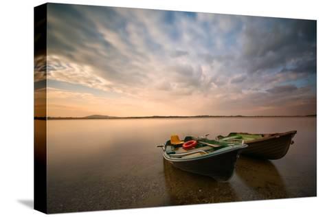 Boats-Piotr Krol (Bax)-Stretched Canvas Print