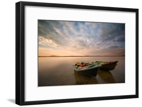 Boats-Piotr Krol (Bax)-Framed Art Print
