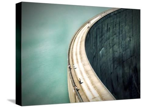 The Dam-Anna Cseresnjes-Stretched Canvas Print