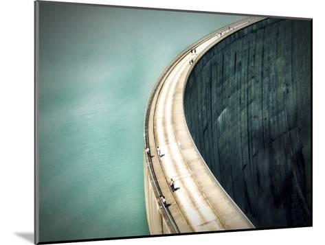 The Dam-Anna Cseresnjes-Mounted Photographic Print