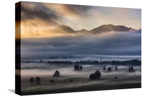 Autumn Morning...-Nina Pauli-Stretched Canvas Print