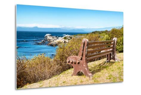 Awesome South Africa Collection - Lonely Bench II-Philippe Hugonnard-Metal Print