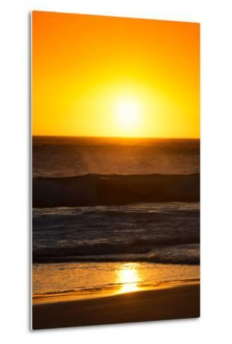 Awesome South Africa Collection - Sunset Blazing Sun over the Ocean I-Philippe Hugonnard-Metal Print