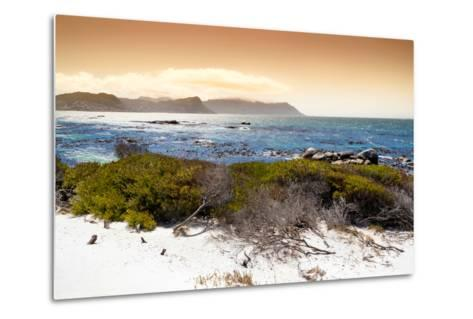 Awesome South Africa Collection - Sunset from Boulders Beach-Philippe Hugonnard-Metal Print