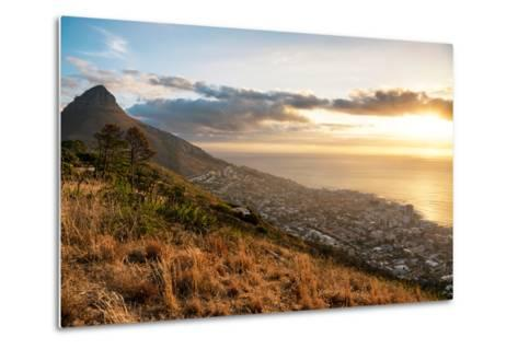 Awesome South Africa Collection - Sunset Cape Town-Philippe Hugonnard-Metal Print