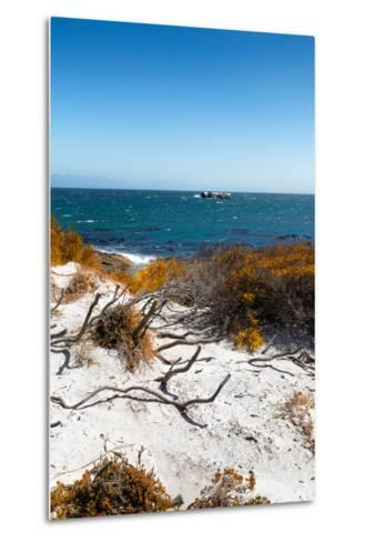 Awesome South Africa Collection - Wild Beach in Boulders Beach III-Philippe Hugonnard-Metal Print