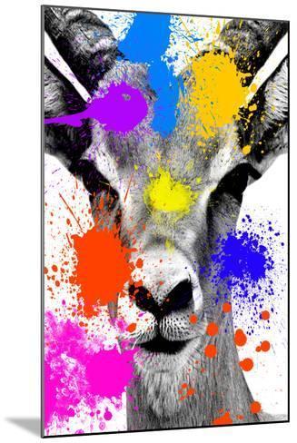 Safari Colors Pop Collection - Antelope Reedbuck-Philippe Hugonnard-Mounted Giclee Print