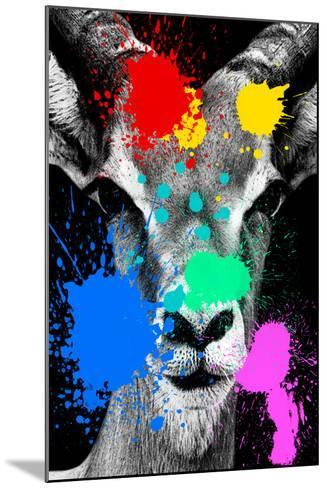 Safari Colors Pop Collection - Antelope Reedbuck II-Philippe Hugonnard-Mounted Giclee Print
