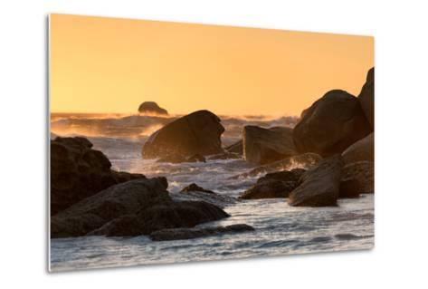 Awesome South Africa Collection - Power of the Ocean at Sunset-Philippe Hugonnard-Metal Print
