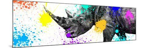 Safari Colors Pop Collection - Rhino Portrait V-Philippe Hugonnard-Mounted Giclee Print