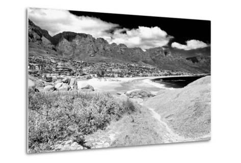 Awesome South Africa Collection B&W - The Twelve Apostles - Camps Bay II-Philippe Hugonnard-Metal Print