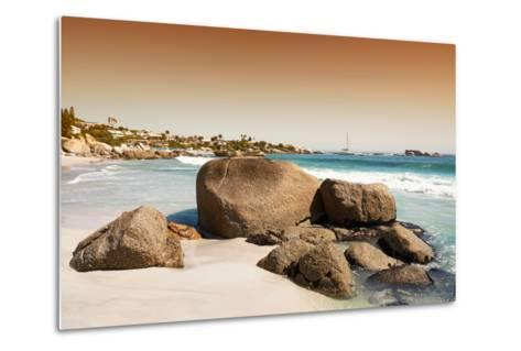 Awesome South Africa Collection - Clifton Beach at Sunset-Philippe Hugonnard-Metal Print