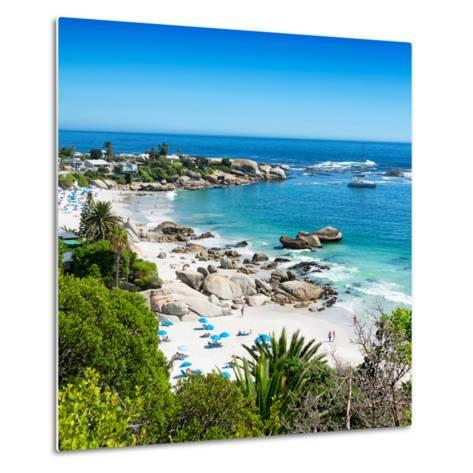 Awesome South Africa Collection Square - Clifton Beach - Camps Bay-Philippe Hugonnard-Metal Print