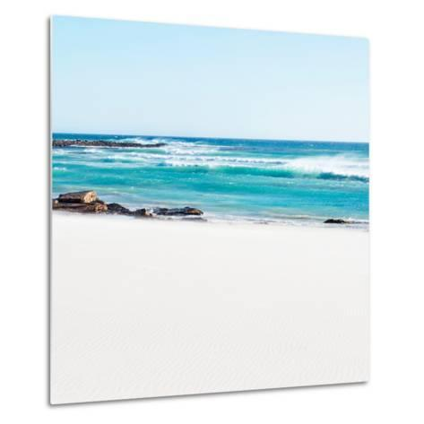 Awesome South Africa Collection Square - White Sand-Philippe Hugonnard-Metal Print