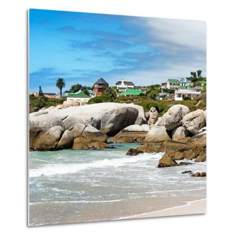 Awesome South Africa Collection Square - Landscape of Boulders Beach - Cape Town-Philippe Hugonnard-Metal Print