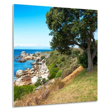 Awesome South Africa Collection Square - Natural Boulders Beach-Philippe Hugonnard-Metal Print