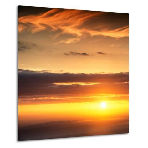 Awesome South Africa Collection Square - Sunset-Philippe Hugonnard-Metal Print