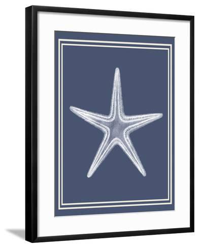 Mixed Nautical White on Indigo Blue a-Fab Funky-Framed Art Print