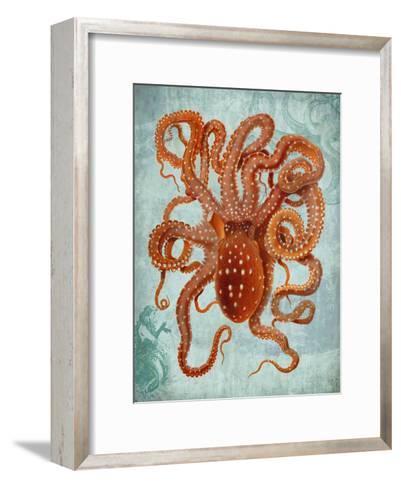 Octopus 2-Fab Funky-Framed Art Print