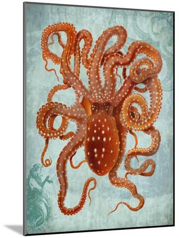 Octopus 2-Fab Funky-Mounted Art Print