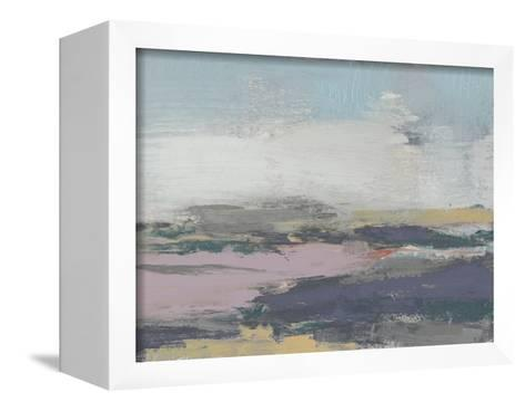 Pretty Horizon II-Jennifer Goldberger-Framed Canvas Print