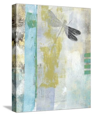 Serene Dragonfly I-Naomi McCavitt-Stretched Canvas Print