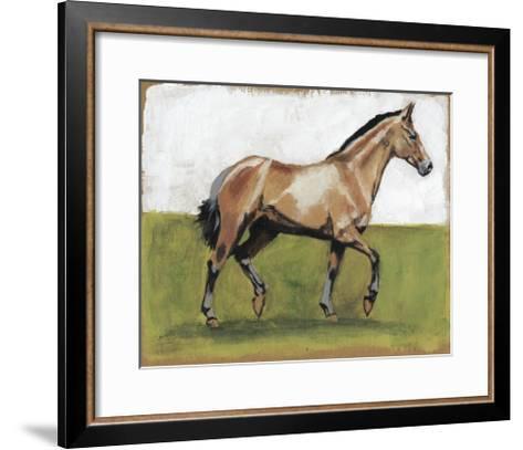 Equestrian Studies III-Naomi McCavitt-Framed Art Print