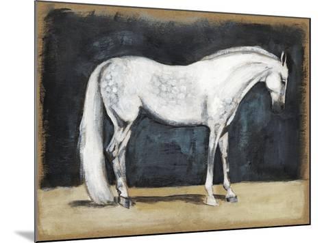 Equestrian Studies V-Naomi McCavitt-Mounted Art Print