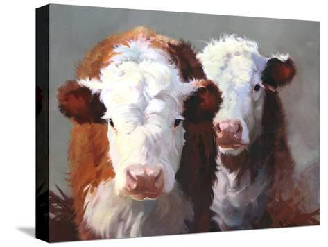 Buddies-Carolyne Hawley-Stretched Canvas Print