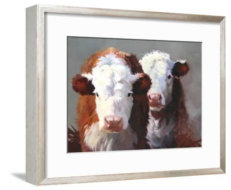Buddies-Carolyne Hawley-Framed Art Print