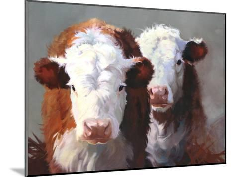 Buddies-Carolyne Hawley-Mounted Art Print