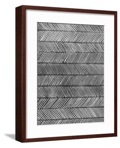 Modern Monochrome I-Grace Popp-Framed Art Print