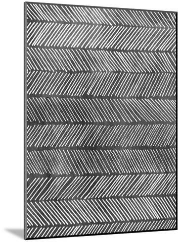 Modern Monochrome I-Grace Popp-Mounted Art Print