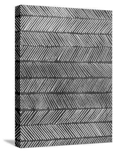 Modern Monochrome I-Grace Popp-Stretched Canvas Print
