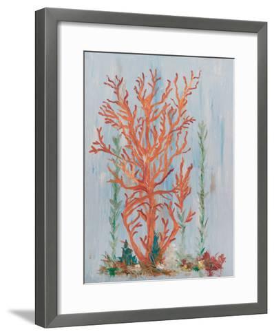 Painterly Coral II-Olivia Brewington-Framed Art Print