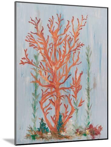 Painterly Coral II-Olivia Brewington-Mounted Art Print