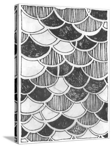 Symbol Imprint III-June Vess-Stretched Canvas Print