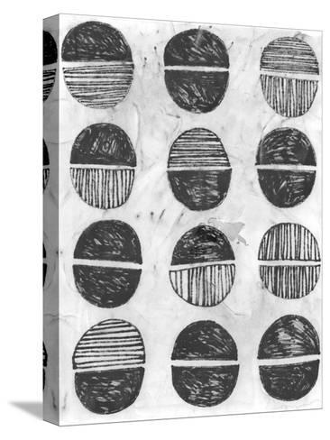 Symbol Imprint I-June Vess-Stretched Canvas Print