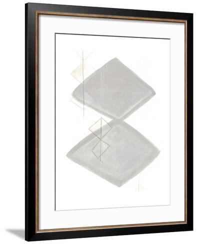Implied Motif IV-June Vess-Framed Art Print