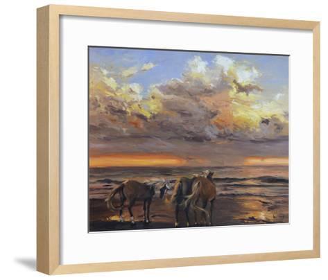 Three's a Crowd-Chuck Larivey-Framed Art Print