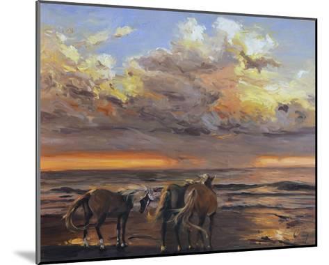Three's a Crowd-Chuck Larivey-Mounted Art Print