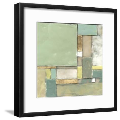 Modular Blocks II-Jennifer Goldberger-Framed Art Print