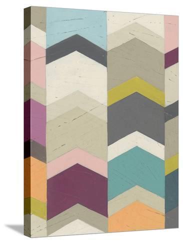 Confetti Prism III-June Vess-Stretched Canvas Print