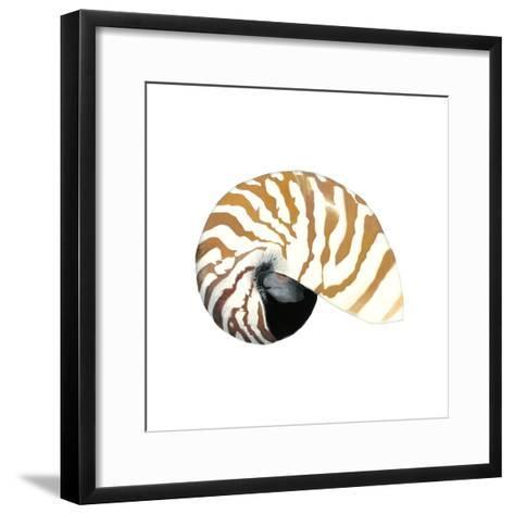 Seashore Souvenirs III-Naomi McCavitt-Framed Art Print
