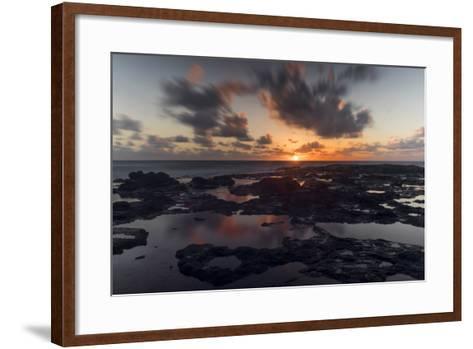 Lava Rocks-Danny Head-Framed Art Print