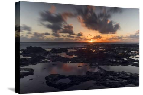 Lava Rocks-Danny Head-Stretched Canvas Print