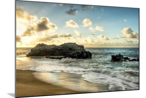 Sunset at Lumahai Beach-Danny Head-Mounted Photographic Print