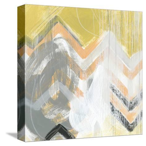 Side Swipe II-June Vess-Stretched Canvas Print
