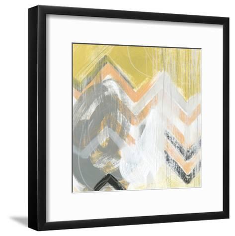 Side Swipe II-June Vess-Framed Art Print