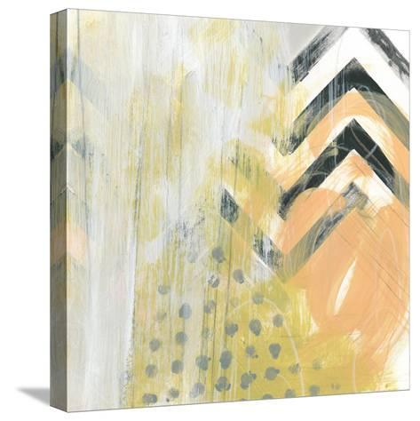 Side Swipe IV-June Vess-Stretched Canvas Print